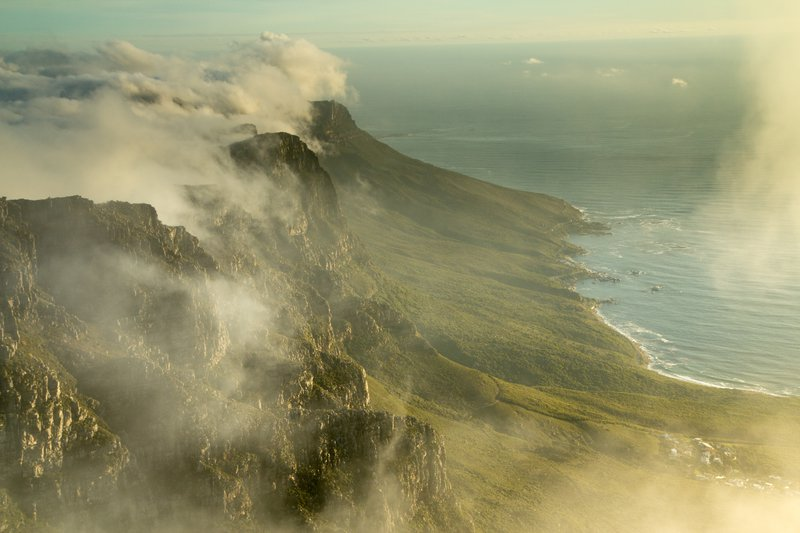 The lost world: Table mountain
