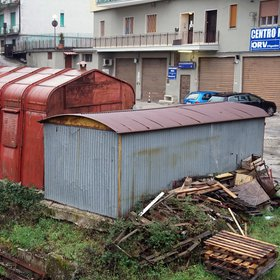 Avellino: modern reuse of an old iron  prefabricated  of  the  1962 earthquake emergency