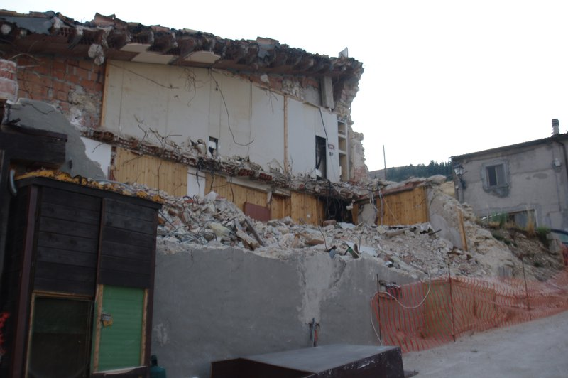 Damaged house in Castelluccio di Norcia after Mw6.5 earthquakes that occurs on October, 30th 2016