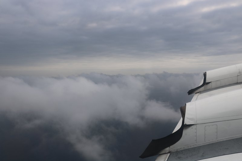 Smoky marine boundary layer in southeast Atlantic