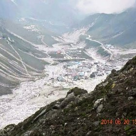Aftermath caused by Cloud Burst and Flood in Kedarnath, Uttarakhand, India