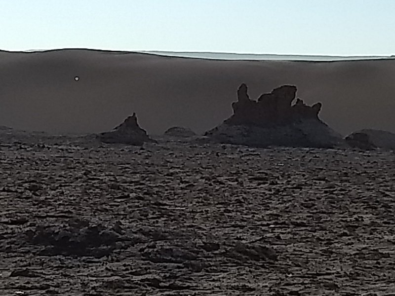 Mars landform  @ Moon Valley - Atacama Desert