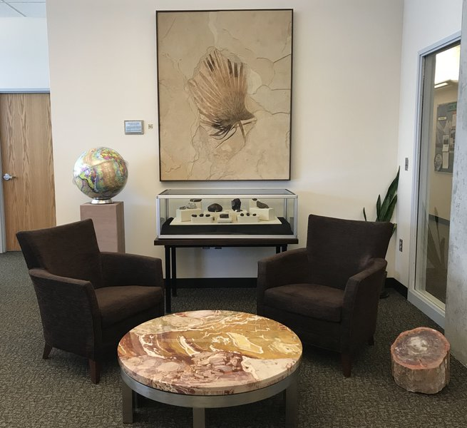 Geology Waiting Room at the Beginning of Time