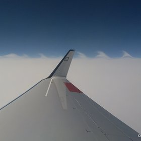 Kelvin Helmholtz instabilities observed from the research aircraft HALO