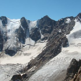 Main Caucasus Ridge. Glaciations. Greater Caucasus Crystalline Basement