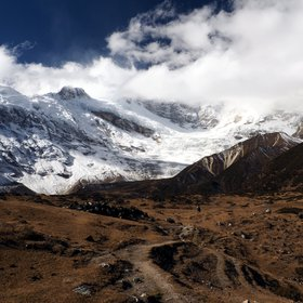 Manaslu conservation area with Pung Gyen Gompa