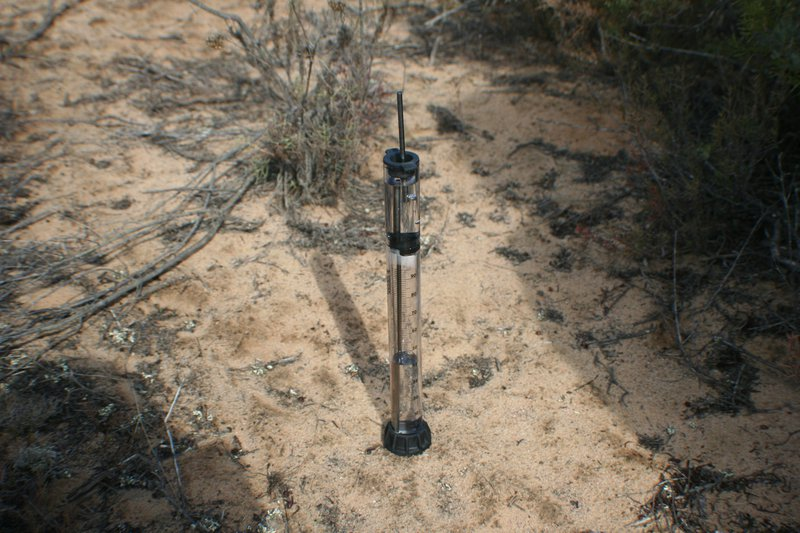 Analyzing soil water repellency with the mini-disk infiltrometer