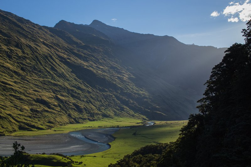 Mount Aspiring Glacier Valley