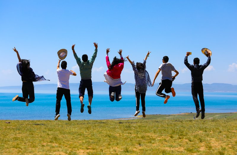 To be Young (Qinghai Lake, China)