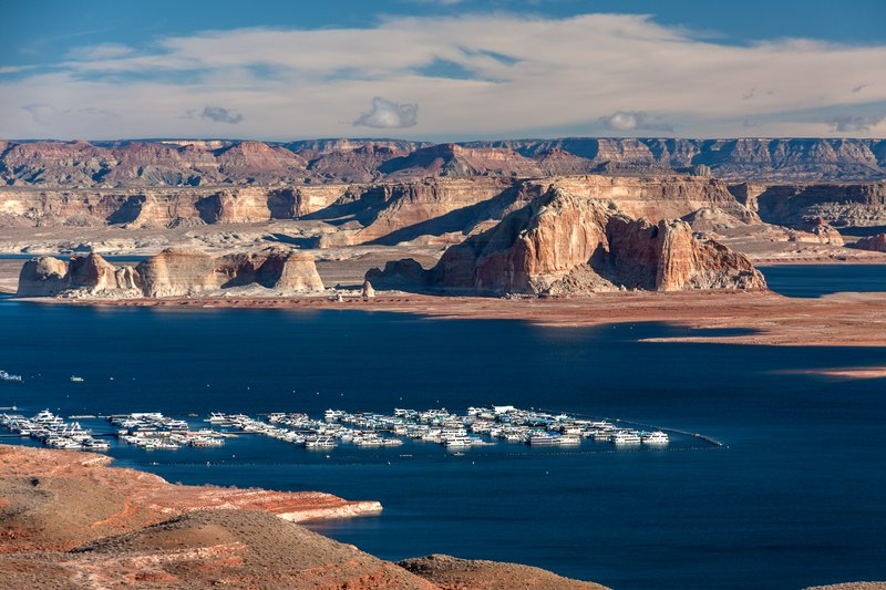 Wahweap Bay of Lake Powell