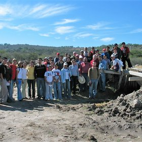 Students of the II International Course on Soil Science (Univ. Michoacana - Univ. of Seville)
