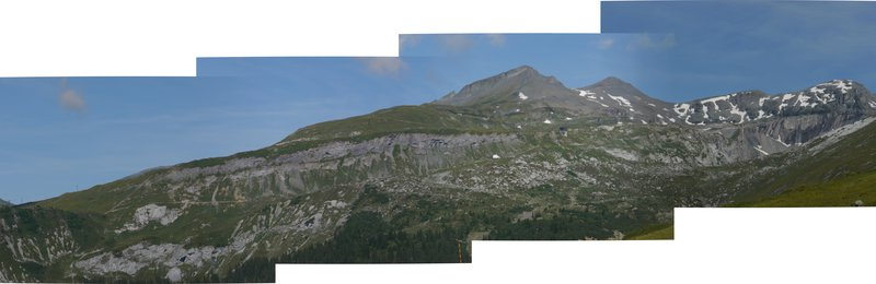 Panorama of the Glarus Thrust