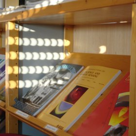 Suns eclipsed in a lab library