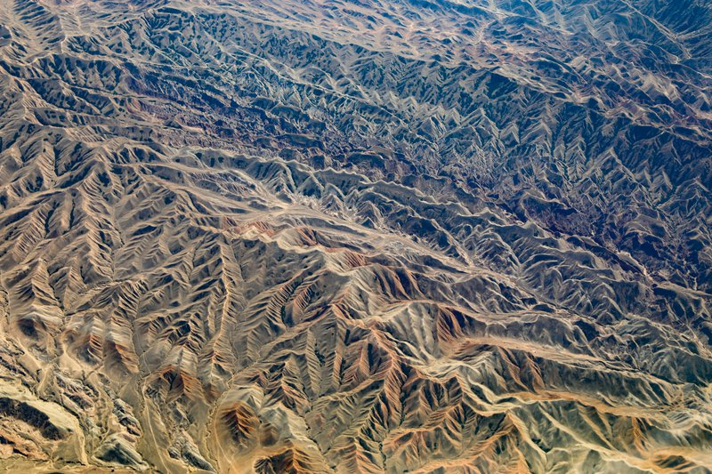 Landform in Western China (Please help me to explain!)