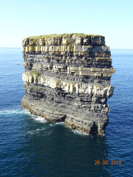 Dún Briste at Downpatrick Head in Co. Mayo, Ireland