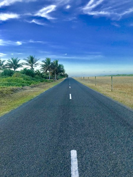 Aitutaki - Cook Islands - Airport road