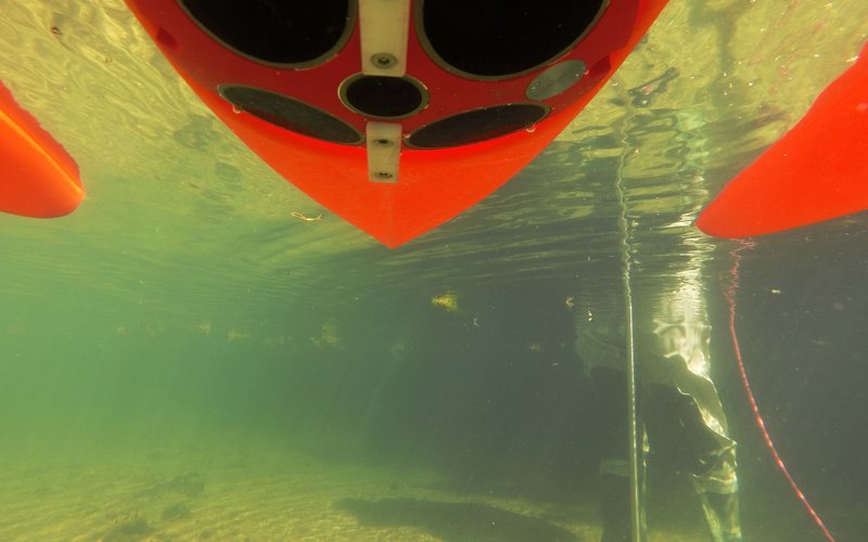 Under the ADCP at Bibury