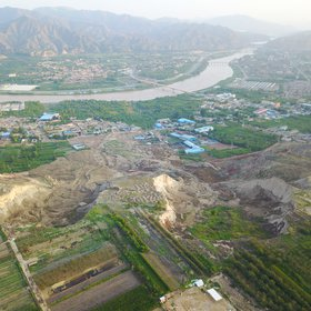 Dangchuan loess landslides in Heifangtai Loess Tableland