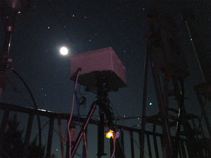 High speed camera for recording sprites at Lulin observatory in Taiwan