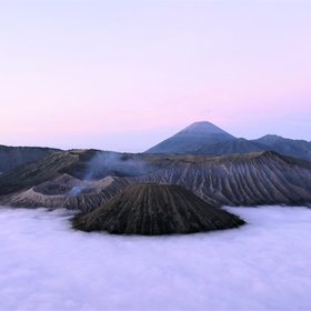 Mt. Bromo, East Java, Indonesia. Exploring Remote Spaces