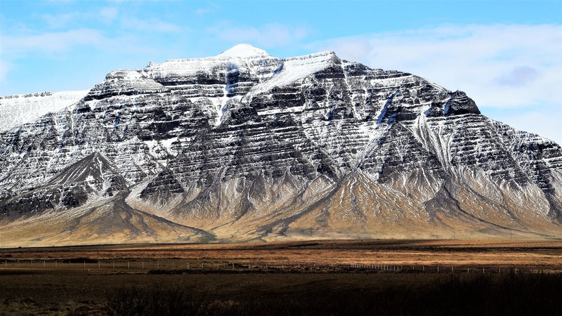 Snæfellsnes peninsula, Iceland. Amazing landscapes and geological beauties.