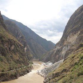 Tiger Leaping Gorge under the Jade Dragon Snow Mountain