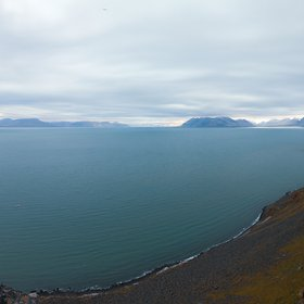 View from a dolerite cliff