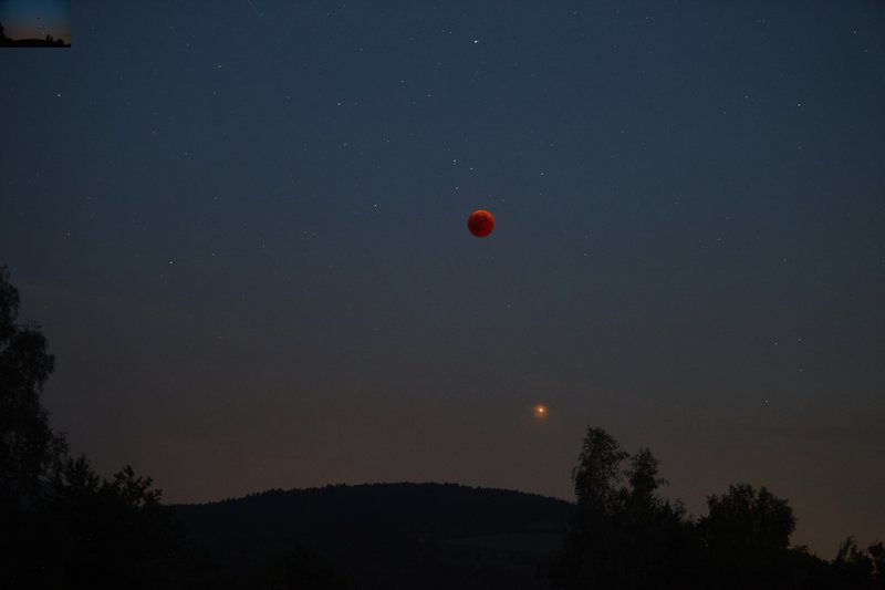 Total Lunar Eclipse and Mars in 2018