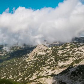 Dachstein Dynamics: Clouds & Evapotranspiration