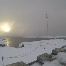 Changing Antarctic weather