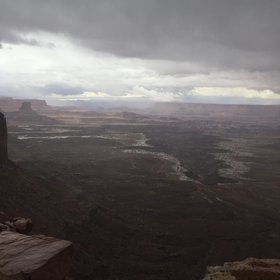 Dead Horse point state park in Colorado, USA.