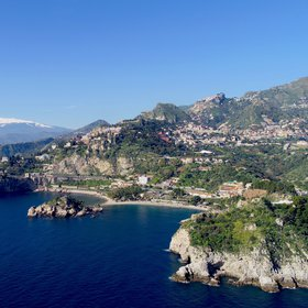The pearl of Sicily Island