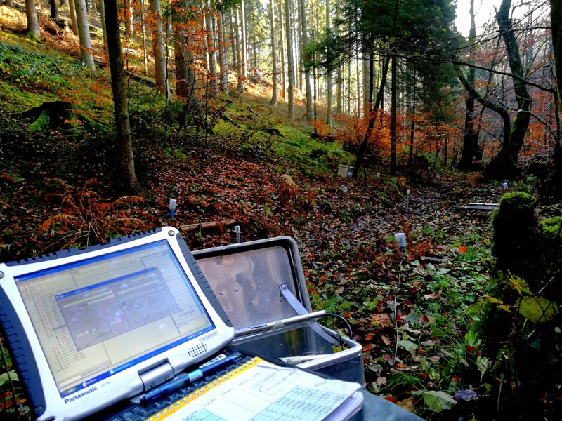 A hydrologist's office