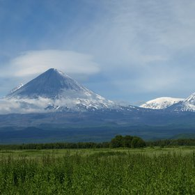 The beauty and grandeur of the Klyuchevskaya Sopka