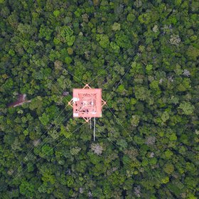 Science above the Amazon rainforest