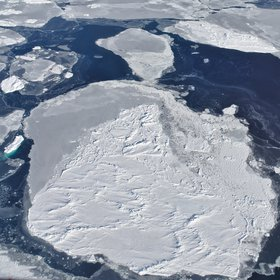 Ice floes in the Weddell Sea