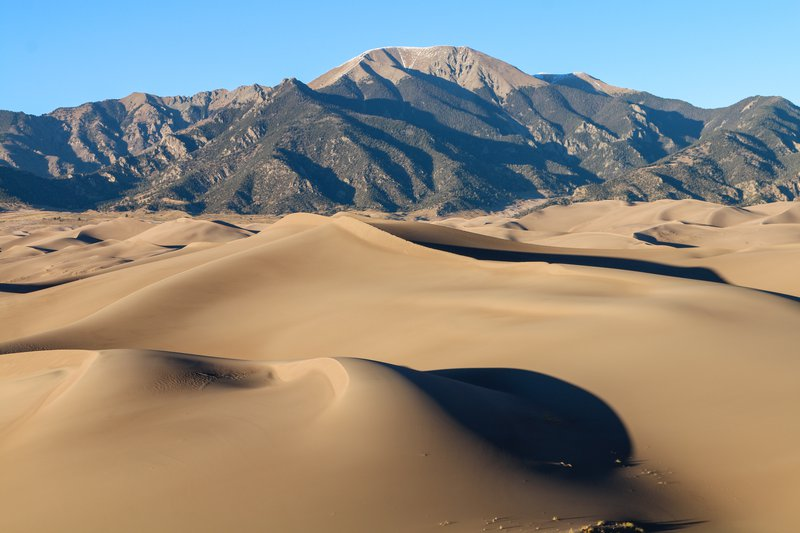 Great Sanddunes and beyond