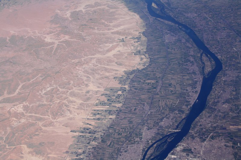 Fields of the Nile River