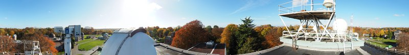 Indian summer from the Meteorological Institute of Belgium