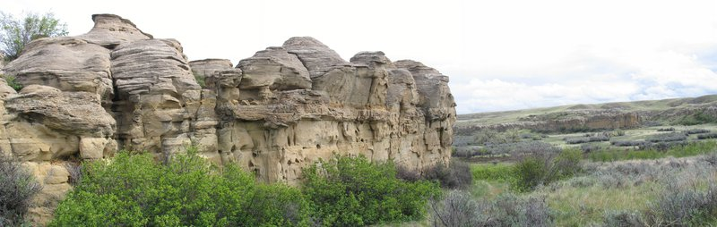 Writing On Stone Provincial Park, Southern Alberta.