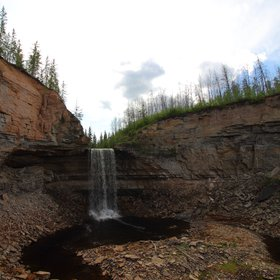 Little Buffalo River Falls, Canada