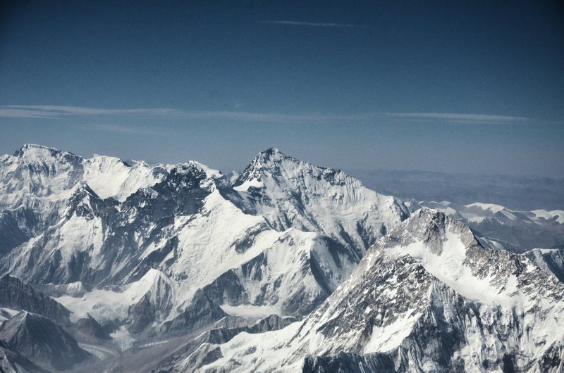 Above Earth's 'third Pole'