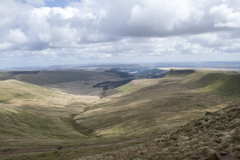Brecon Beacons valleys