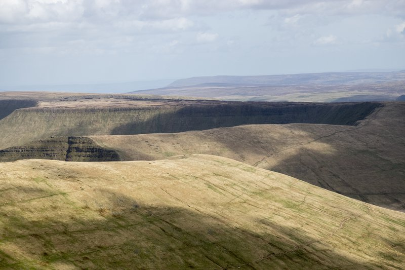 View from Corn Du, Brecon Beacons