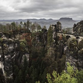 Elbe Sandstone Mountains, Saxony Germany