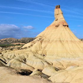 Striking erosion in the Bardenas Reales