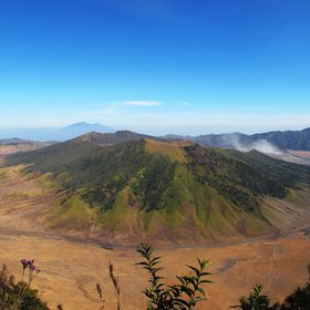 The Crater of Ancient Tengger Caldera