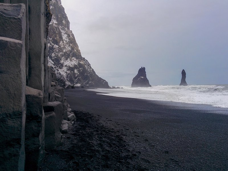 The Beach of Ice and Fire