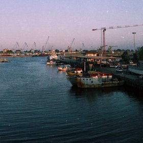 View of the Anzali Port