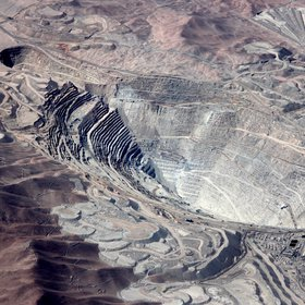 Chuquicamata copper mine, Chile